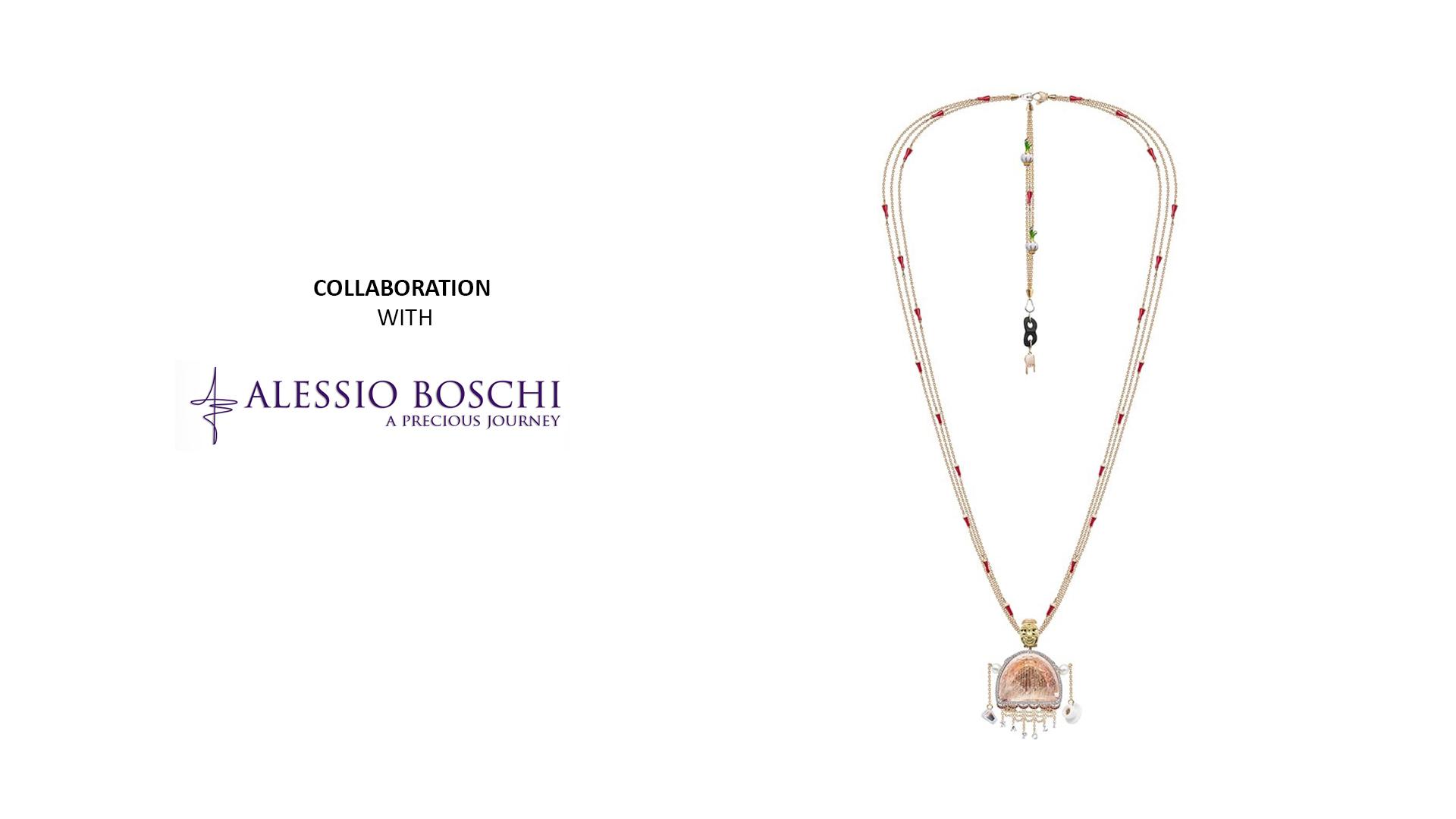 بهمن فکوری و همکاری با Alessio Boschi | طراحی طلا و جواهر