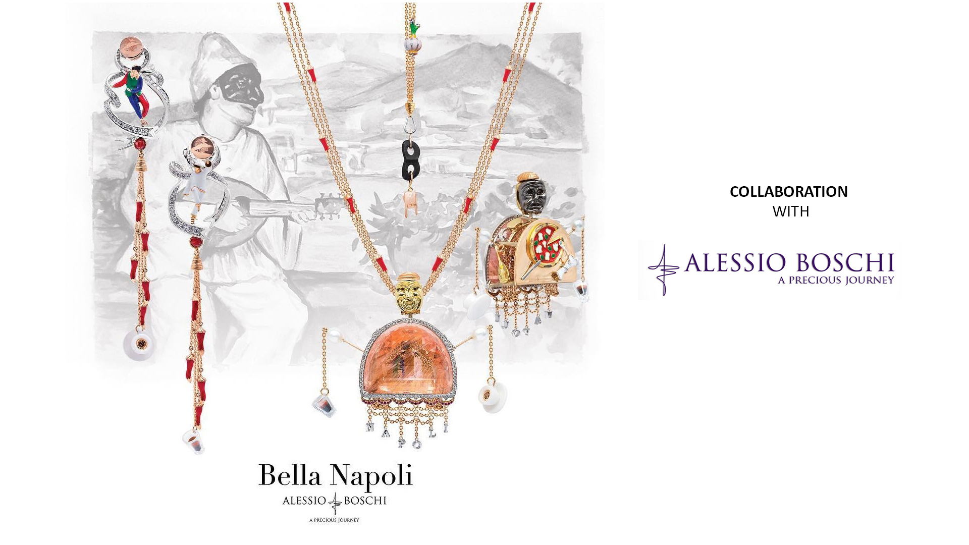 طراحی جواهرات | بهمن فکوری و همکاری با برند ایتالیایی Alessio Boschi