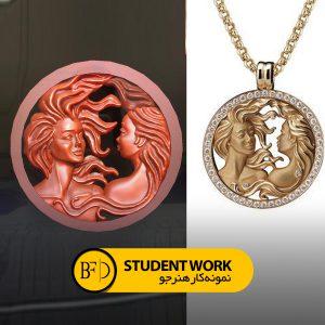 طراحی طلا و جواهر با زیبراش آنلاین و حضوری (zbrush)| آموزش طراحی طلا و جواهر