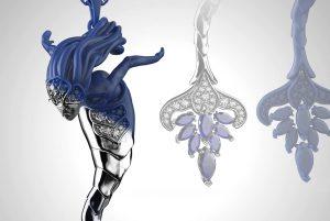 رندر جواهرات با کیشات ( keyshot) | آموزش طراحی طلا و جواهر